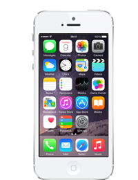 Apple IPhone 5 64GB White And Silver