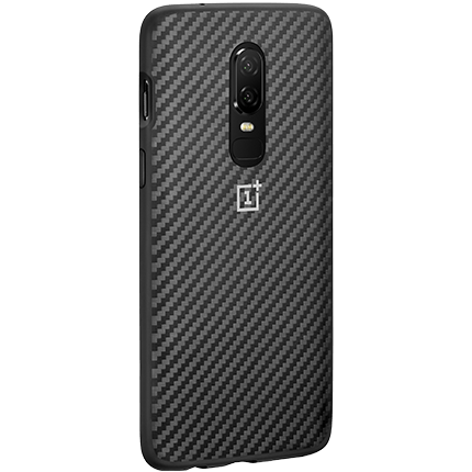 Karbon oneplus 6 karbon bumper case - accessories from o2
